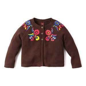 Tea Collection Aymara Embroidered Cardigan